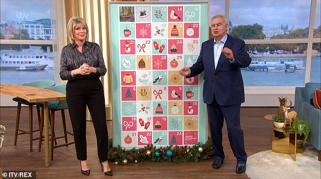 Shake-up:Eamonn and Ruth have presented every Friday on the show since 2006, and, the couple will now take over from Holly Willoughby and Phillip Schofield for the summer period