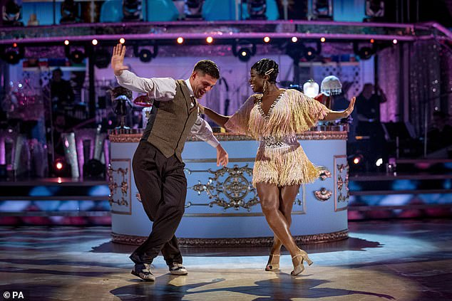 Wow! Strictly's Clara burst into tears as she topped the leaderboard with her 'perfect' Charleston during Saturday's live show