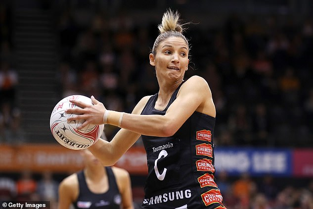 Kim Ravaillion (pictured in Super Netball action) is a talented sportswoman in her own right