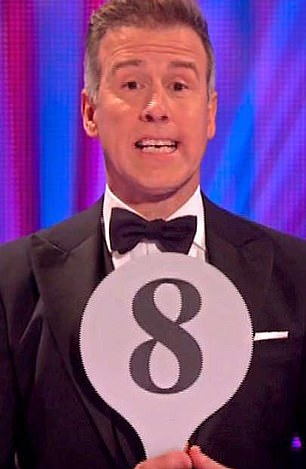 Anton Du Beke filled in for Motsi Mabuse when she had to urgently fly home to Germany and quarantine for two weeks