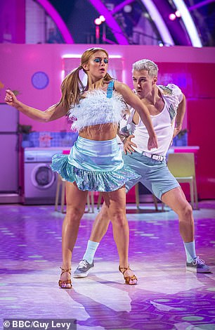 EastEnders star Maisie Smith and Gorka Marquez cha-cha-cha to Cyndi Lauper¿s Girls Just Want To Have Fun