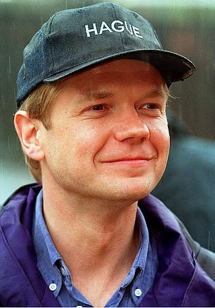 Heappears to have taken some ill-advised style tips from his predecessor William Hague