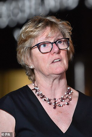 Former chief medical officers Dame Sally Davies has said the country's high death toll is down to Britain's high obesity rate