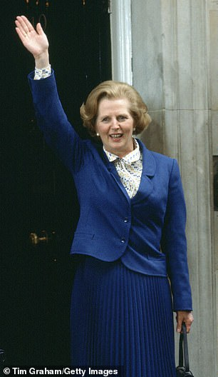 The real deal:Margaret pictured in 1979