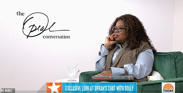 Queen of chat: Talking to Oprah Winfrey in her upcoming interview for Apple, Dolly is asked whether she has made sacrifices in her career
