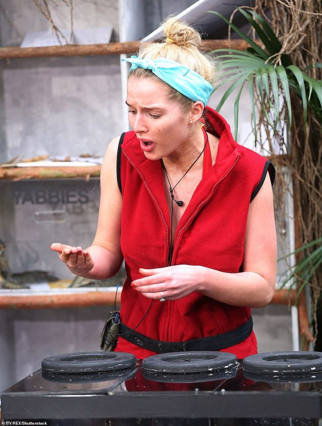 What is she doing? In series 12 Helen Flanagan reportedly annoyed producers and even hosts Ant and Dec by quitting numerous challenges without even giving them a try, causing tension in the camp
