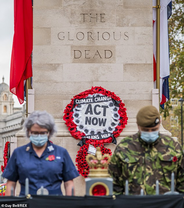 Protestors who deface war memorials could be jailed under new plans to protect sites after Extinction Rebellion activists defaced the Cenotaph on Remembrance Sunday