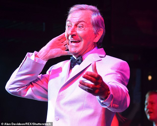 O'Connor was born in Stepney in London's East End in 1932 to a Jewish cleaner and an Irish binman. Following the outbreak of the Second World War he was evacuated to Northampton (pictured: Des O'Connor, 2011)