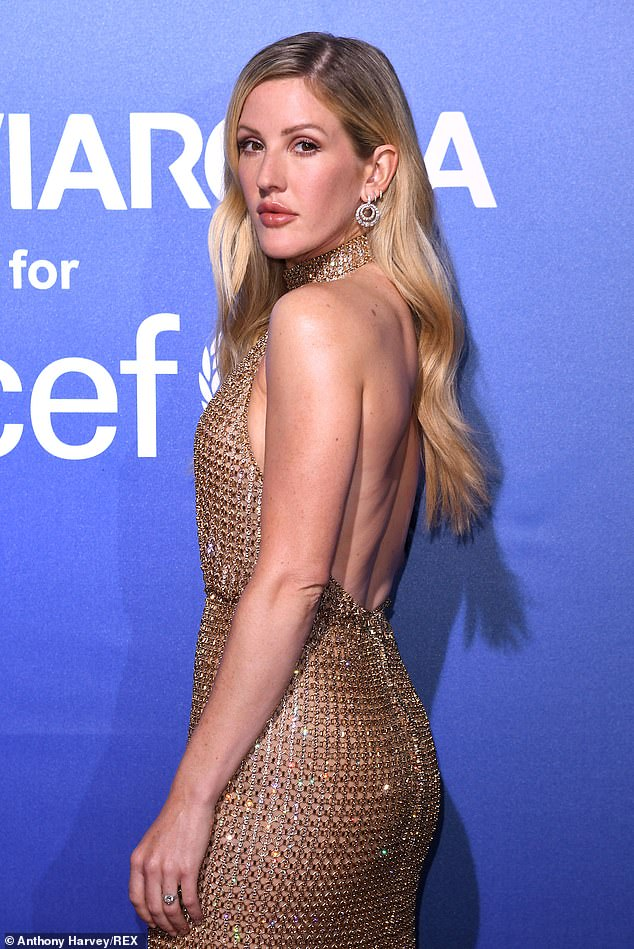 Dating website IllicitEncounters.com found over half of the vegans asked said they have sex four times a week. Pictured, Ellie Goulding who transitioned from vegetarianism to veganism in 2018