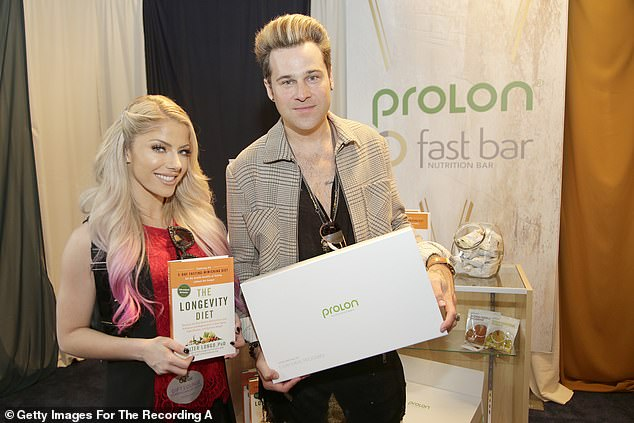 Slightly secret: While the pair kept their relationship quiet for the time, they were later pictured together at a Grammy's gifting suite in January