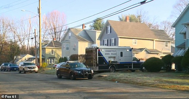The incident occurred on Friday night in Plymouth, Connecticut