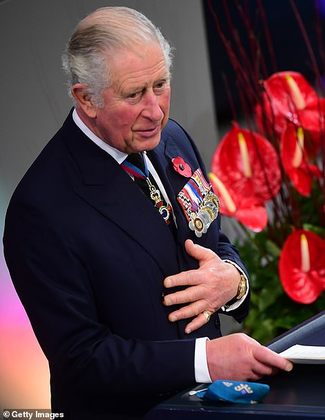 The prince explained that the 'challenges' to our future are manifest, 'whether from this dreadful pandemic which threatens not just our public health but our prosperity and security; or from the existential threat to our planet, and our way of life, from climate change and catastrophic biodiversity loss'