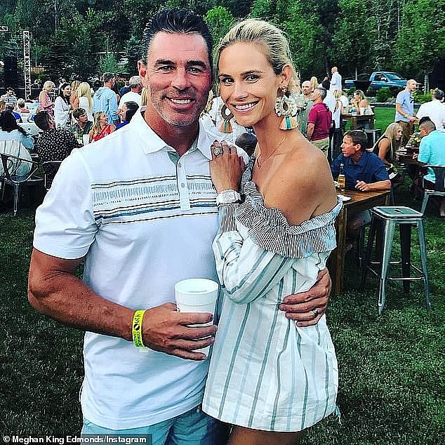 King's husband Jim Edmonds filed for divorce from Meghan on October 25, 2019, the day after their fifth wedding anniversary