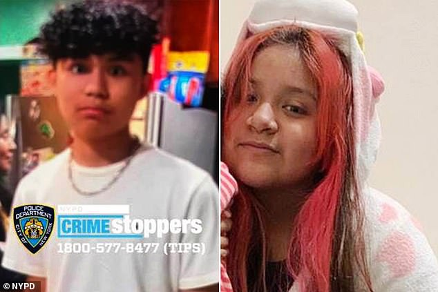Kevin Figueros, 14, from Brooklyn, New York, was caught speeding in Iowa on Sunday with his girlfriend Amaya Arguelles, after he took his father's Toyota mini van and skipped town on Thursday