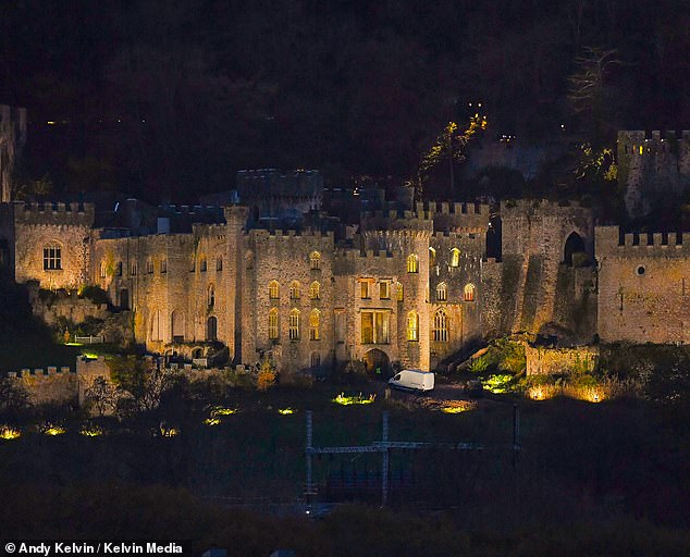 Was THAT the ghostly countess? I'm A Celeb viewers spotted a spectral figure in one of 'haunted' Gwrych Castle's windows on the first night of the new series