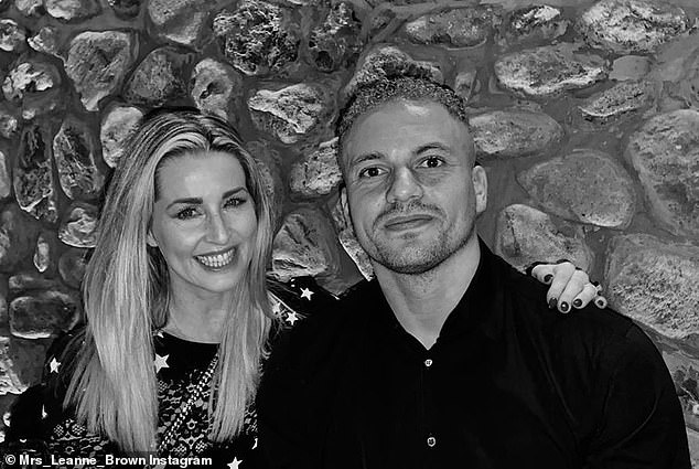 Marriage: Brown has been married to former England defender Wes for more than a decade