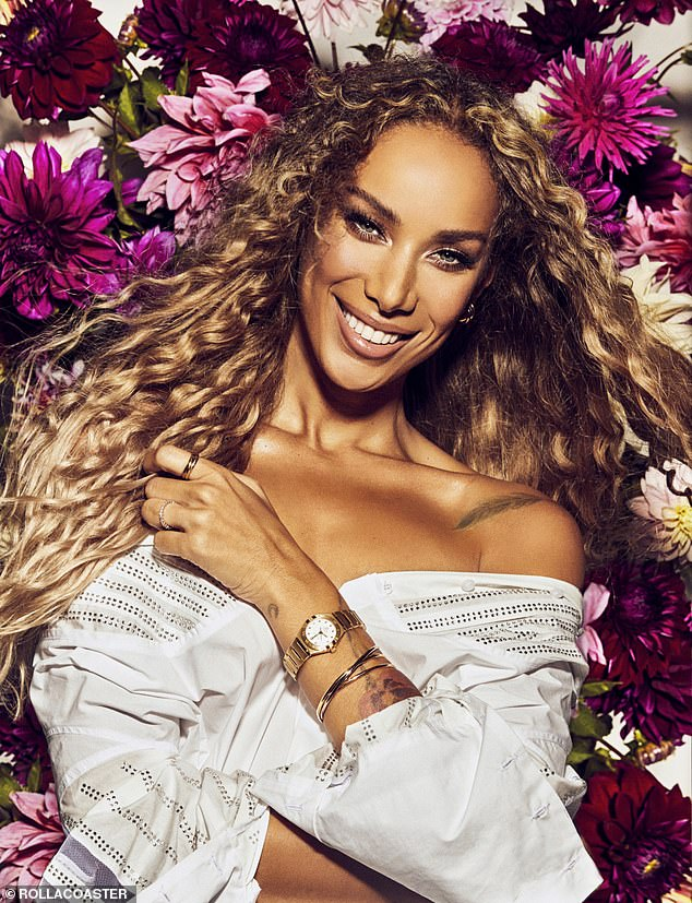 Gorgeous: Leona Lewis has wowed in a new stunning Rollacoaster magazine photoshoot for their autumn/winter 2020 issue