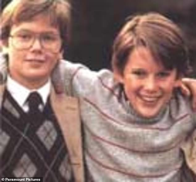 Rise to fame: New York-based actor Ethan co-starred with River Phoenix in the 1985 sci-fi film Explorers when they were children