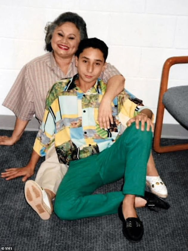 Griselda married third husband Sepulveda in 1978, a killer with whom she had her youngest child, Michael. Pictured: Griselda with her son Michael Blanco.Michael has never been able to confirm if his mother ordered the hit on his father. Former Griselda associates said she did