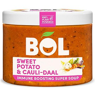 Bol Sweet Potato & Cauli-daal immune-boosting super soup