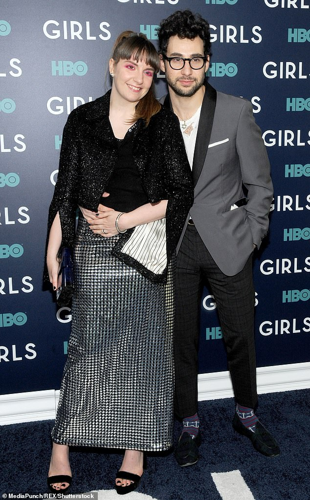 Dunham dated Antonoff (above together) for six years from 2012 until the end of 2017