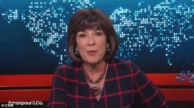 CNN anchor Christiane Amanpour apologizes for comparing Trump and Nazi's Kristallnacht