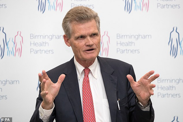 Professor Sir John Ball, who advises the Government on the virus, said he was still sure the UK would be able to return to normal by the spring
