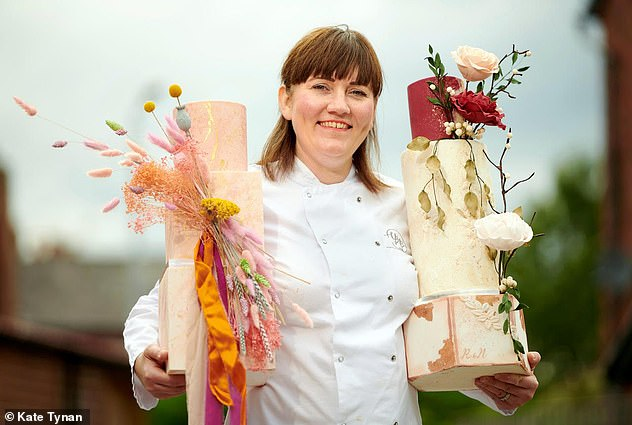 Instead of making cakes full time for a living Kate Tynan sends out corporate and personal gifts