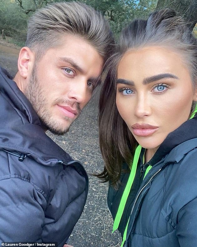 Loving lockdown:Aside from working hard in front of the camera, she has also been sharing insights into her new romance with Katie Price's ex-boyfriend Charles