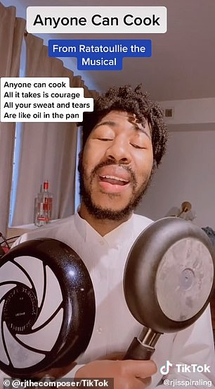 NYU student RJ Christian is one fan who wrote several songs for Ratatouille the Musical, including ' Anyone Can Cook ' and ' Ratatouille'