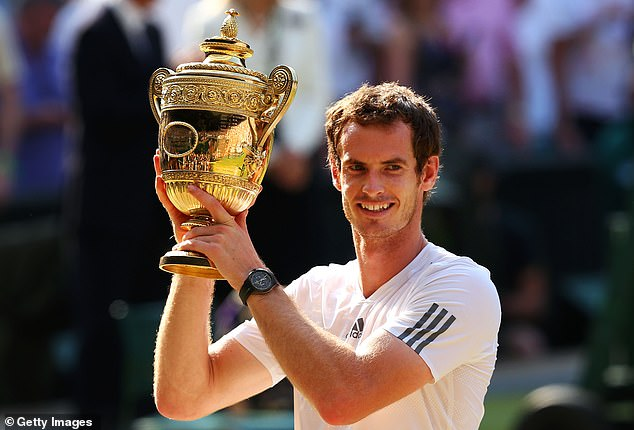 Murray was the first British man in 77 years to win the famous Wimbledon title in 2013