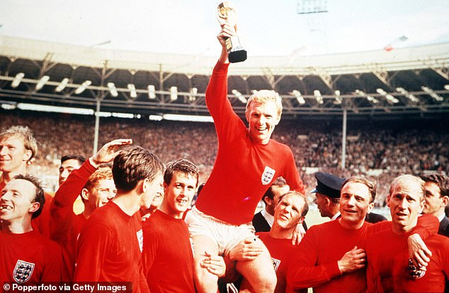 Bobby Moore was the captain of the England World Cup winning squad on home soil in 1966