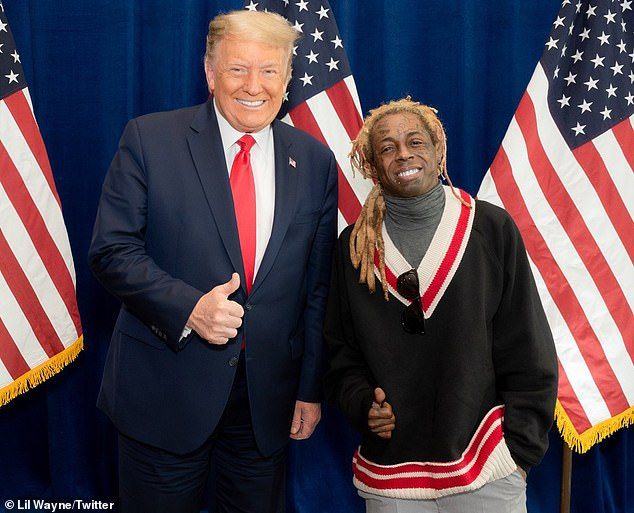 Lil Wayne, who threw his support behind President Trump prior to the election, has been charged with possessing a firearm as a convicted felon after authorities discovered a gun during a search of his private jet in Miami last year
