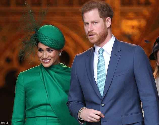 The Duke and Duchess of Sussex are leaving Commonwealth service at Westminster Abbey in London on March 9 of this year, for their last royal engagement before leaving royal life.