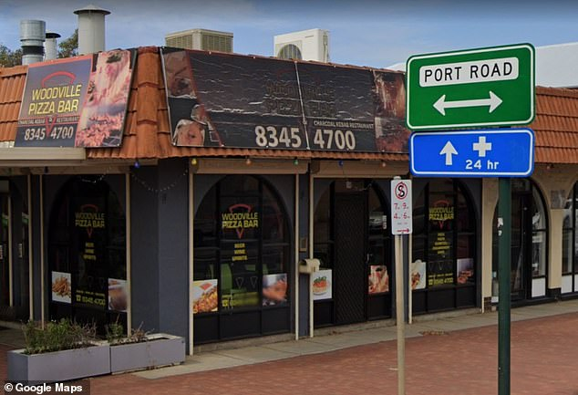 SA Health issued an urgent health alert for diners at Woodville Pizza Bar (pictured) overnight