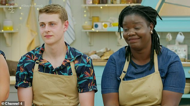 Fan favourite:But unfortunately it wasn't meant to be as Hermine fell at the final hurdle, leaving fans devastated as one declared: 'I absolutely hate you 2020!'
