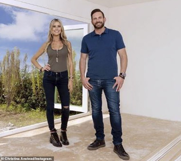 New season: Christina has starred on the popular HGTV design and renovation show, Flip or Flop, with ex husband Tarek El Moussa since 2013