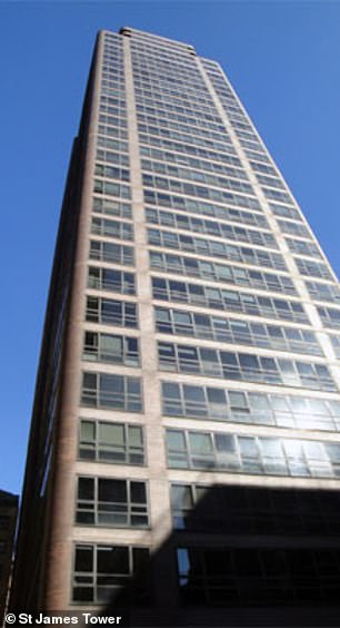 Mustafa Oz bought apartments in two swanky Upper East Side apartment buildings back in 1983. It's believed the apartments (pictured) are both now leased out, with Nazlim Oz receiving $15,000 per month in rent payments