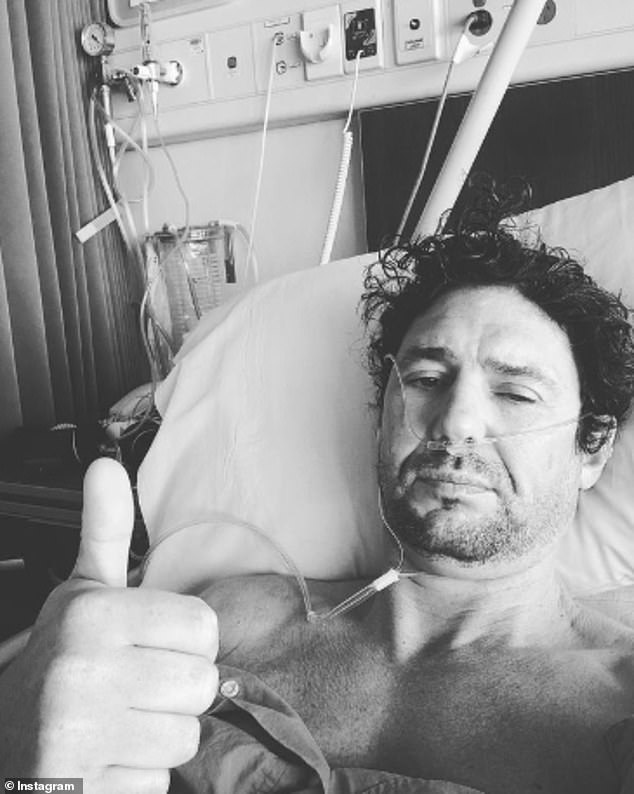 Health woes: My Kitchen Rules star Colin Fassnidge has revealed he is suffering from a mysterious health condition. On Tuesday, the 45-year-old chef said he was heading to hospital to undergo several tests, after finding out he had high aluminum in his blood