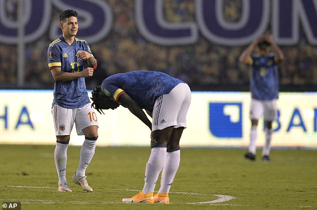 Colombia shipped six in a World Cup qualifier for the first time in 43 years against Ecuador