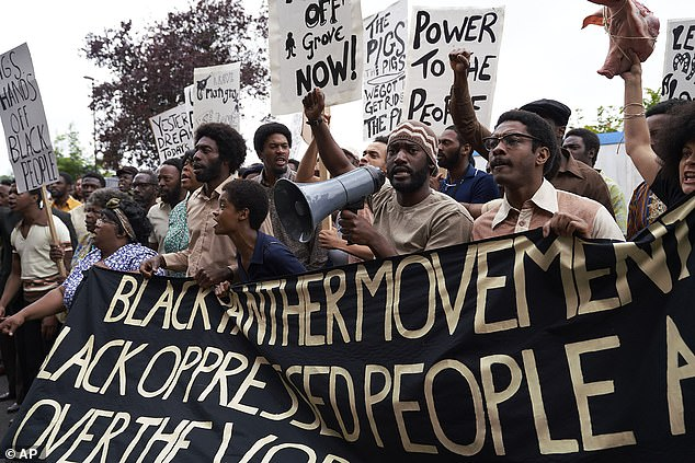 Powerful:She plays real life Black Panther Altheia Jones-LeCointe, who was part of the Mangrove Nine, a group who were accused of inciting riots in 1971