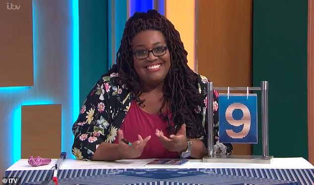 Last-minute: Series reporter Alison Hammond, 45, filled in the fan favourite's shoes on Wednesday's edition (pictured)