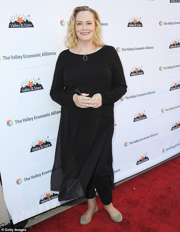 Keeping busy: Shepherd has transitioned between film and TV roles throughout her career; she is seen in August 2019