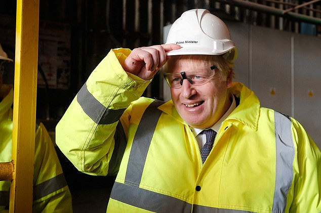Buy British: The steel industry has urged Boris Johnson's Government to prioritise procuring the metal needed for the projects from the UK