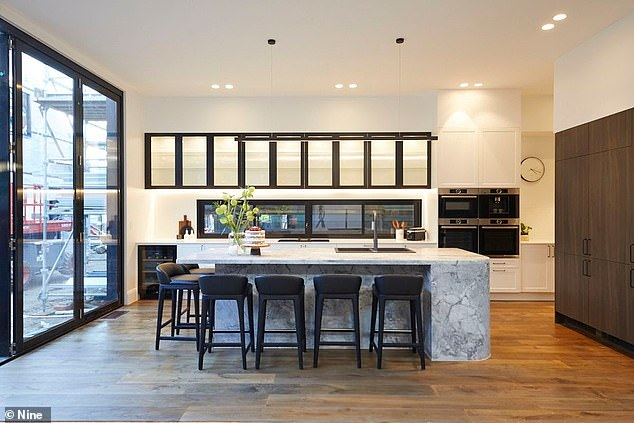 Perfect for cooking up a storm! They say the kitchen is the heart of the home, and Sarah and George's space brings new meaning to the saying