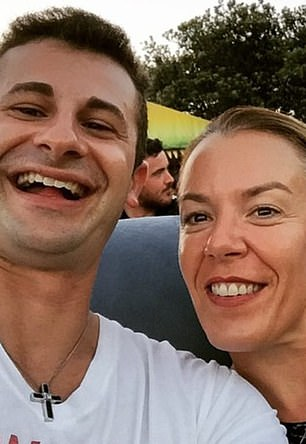 Ms Caddick is believed to have left her Dover Heights mansion about 5.30am on Thursday, November 13 to go for a run. Her husband Anthony Koletti (left) was asleep at the time