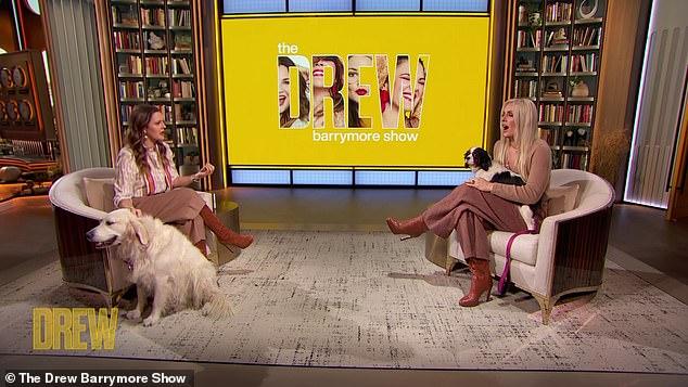 Mente de un campeón: Lindsey Vonn habló sobre crecer con una valentía sobrenatural, y reveló que simplemente no 'tiene miedo' durante una aparición en The Drew Barrymore Show el jueves.