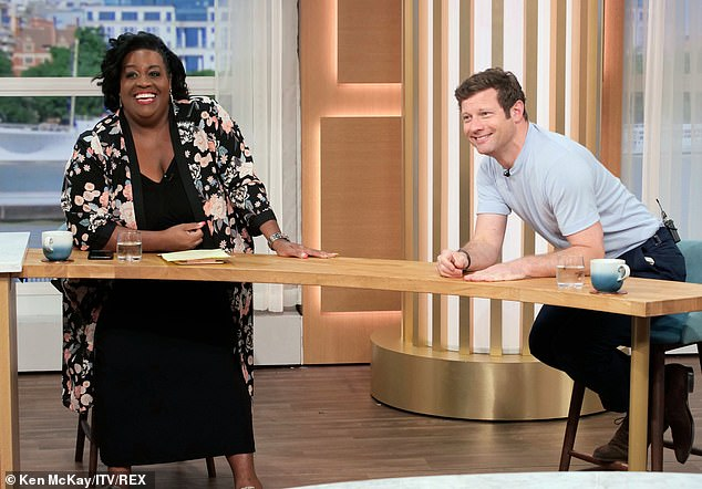 New guard:Ruth and her husband Eamonn, both 60, are being replaced on This Morning's Friday show by Alison Hammond and Dermot O'Leary at some point in the near future