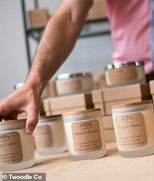 Twoodle Co sells natural alternatives to candles, diffusers, soaps and more