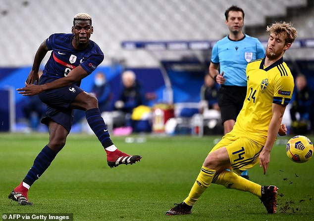 Paul Pogba started three games in six days for France during the international break
